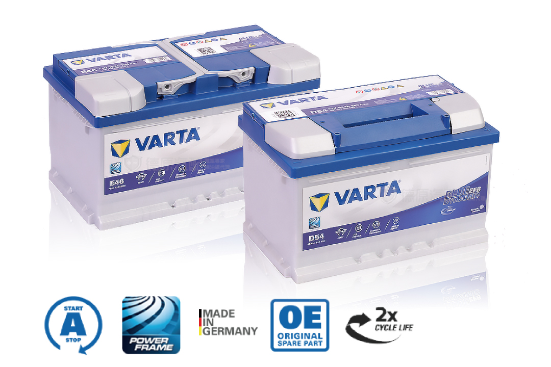 varta blue dynamic efb